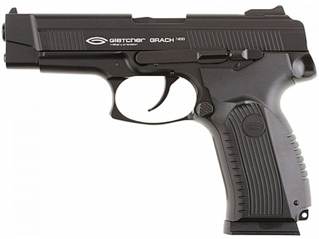 Gletcher Grach  CO2 NBB Steel BB Pistol-Plastic