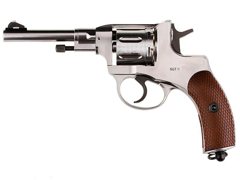 Gletcher NGT Silver Plated BB Revolver