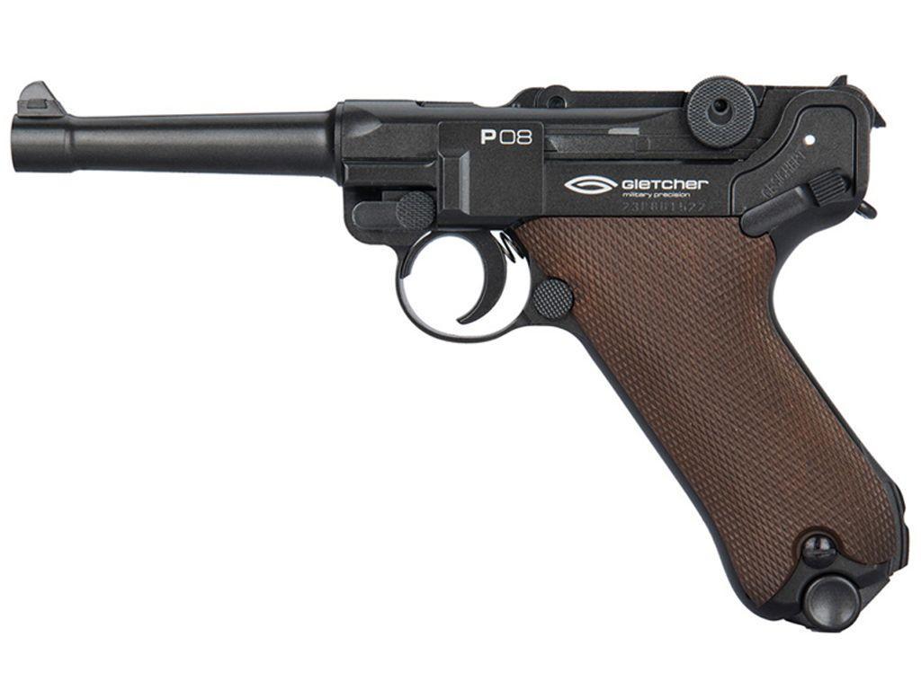 Gletcher P08 CO2 Blowback BB Pistol