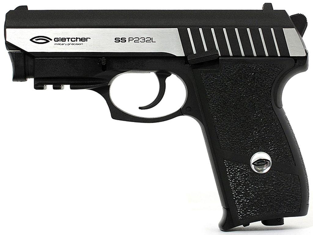 Gletcher Steel Blowback 4.5 Mm Air Pistol