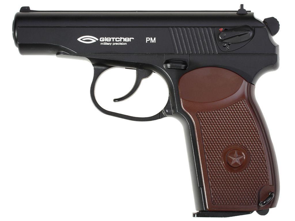 Gletcher Metal 4.5mm CO2 Gun