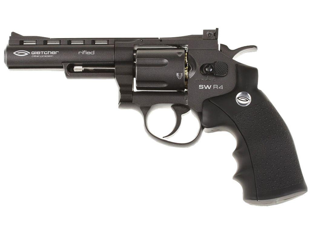 Gletcher SWR4 Full Metal CO2 Pellet Revolver