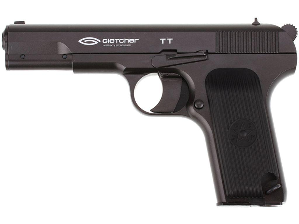 Gletcher Steel Blowback TT .177 Caliber CO2 Pistol
