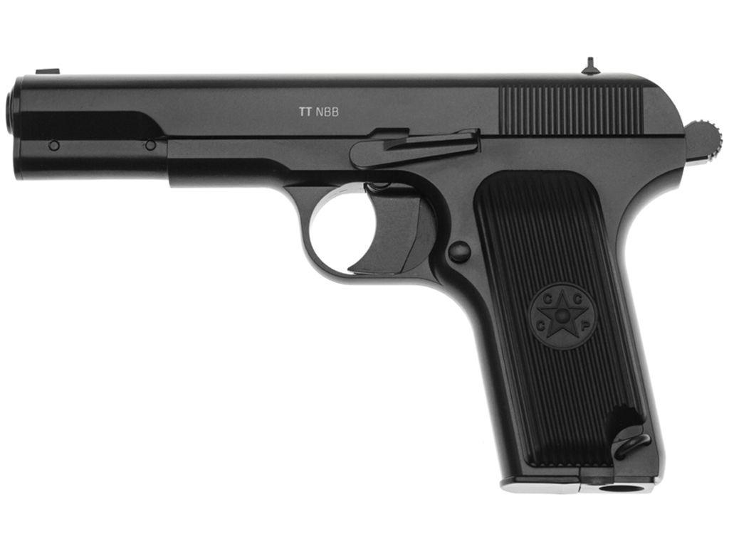 Gletcher Tokarev TT NBB CO2 Steel BB Pistol