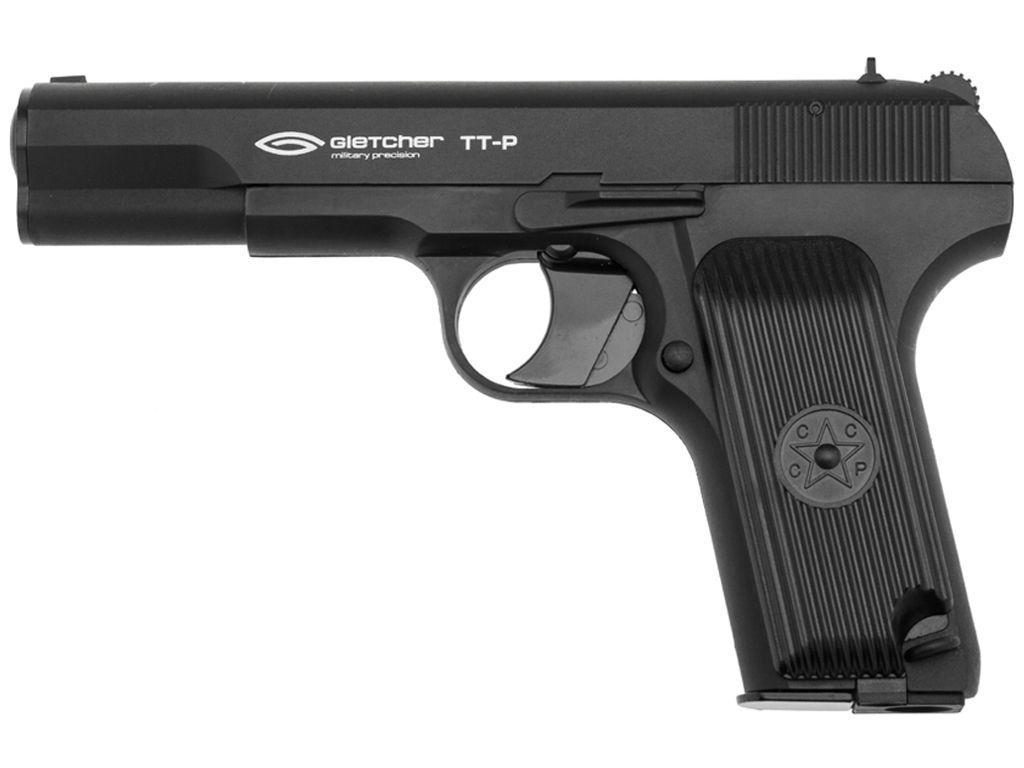 Gletcher TT-P  CO2 NBB Steel BB Pistol-Plastic