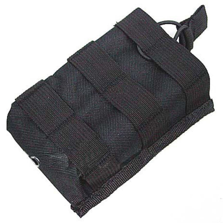 Tactical Black Radio Pouch