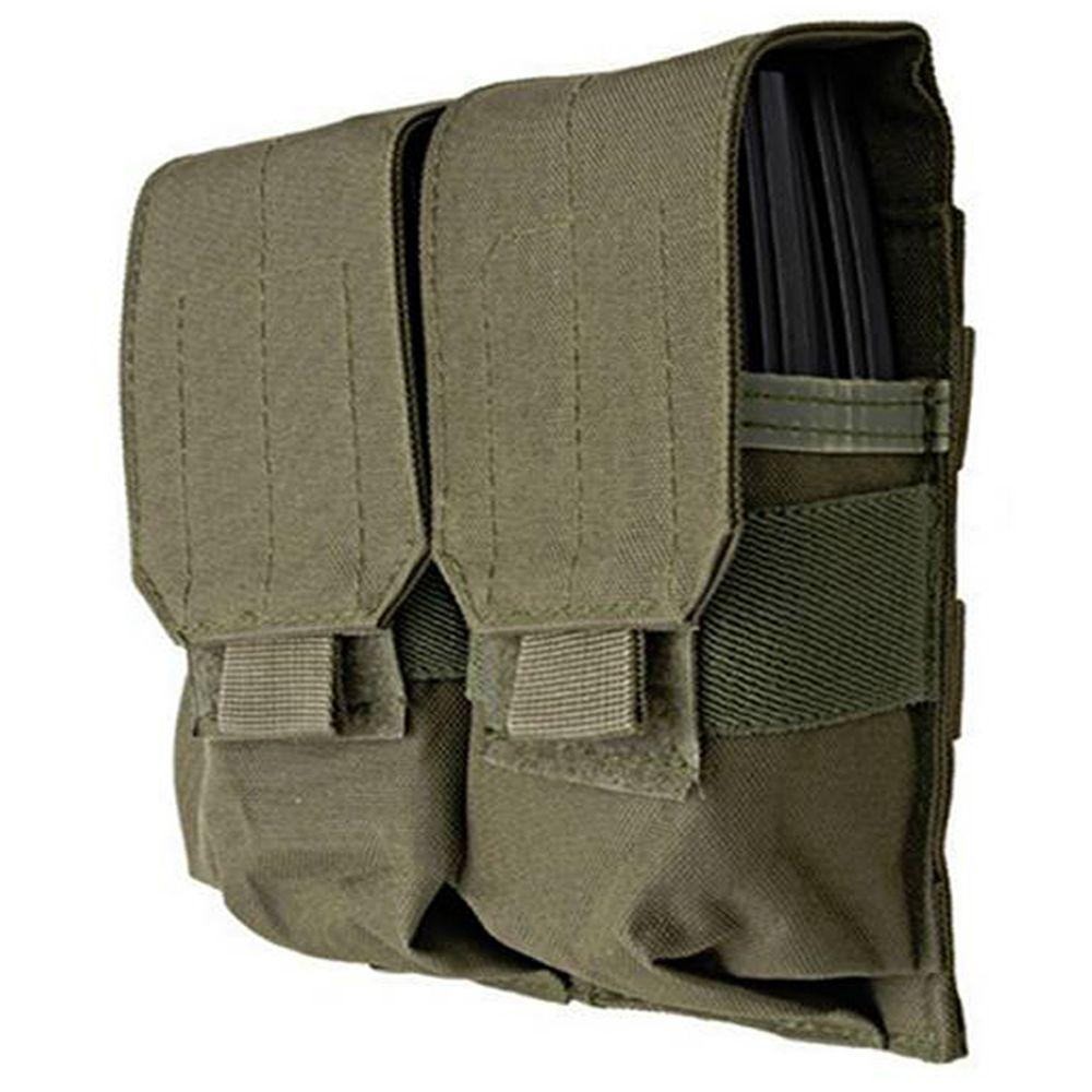 Double Ammo Olive Drab Pouch For M4/M16