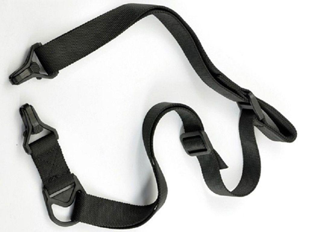 1 Or 2 Point Nylon Tactical Black Sling