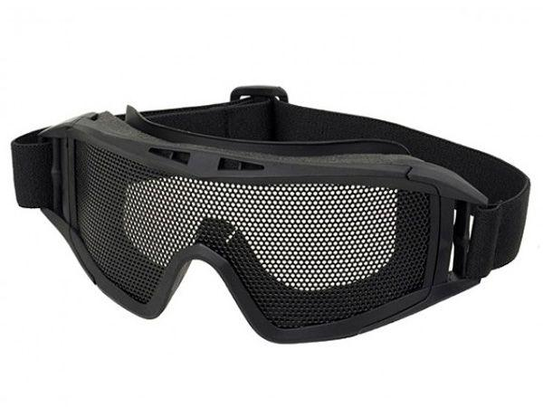 Steel Mesh Lens Tactical Goggles