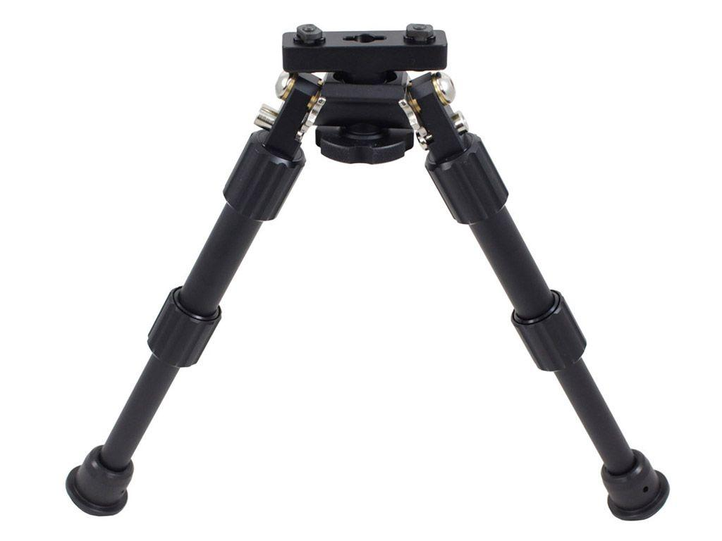 Compact Aluminum Bipod for M-LOK Rails