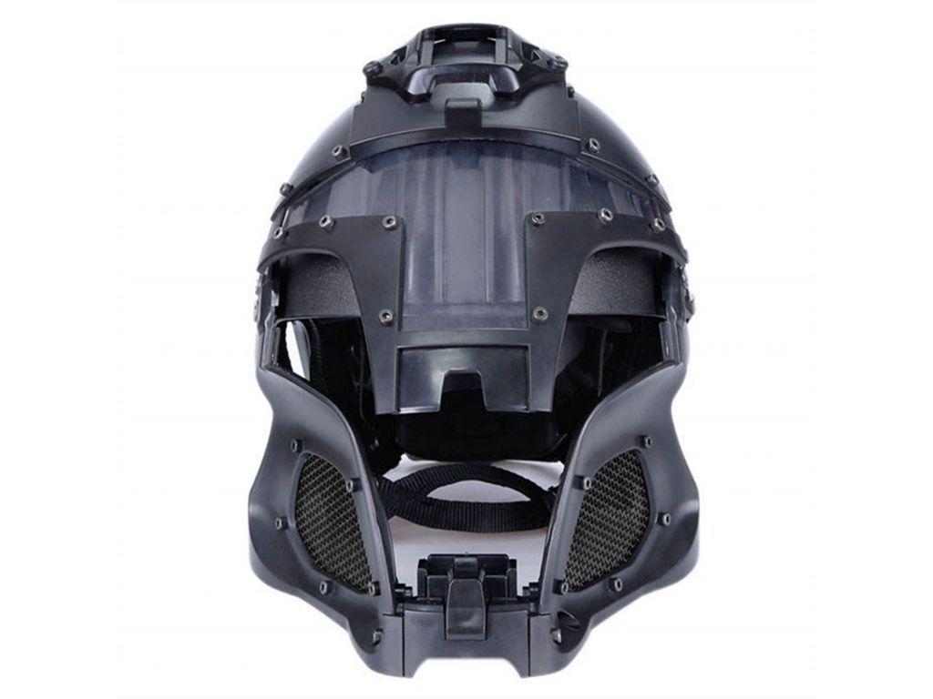 Airsoft Helmet Samurai - Black