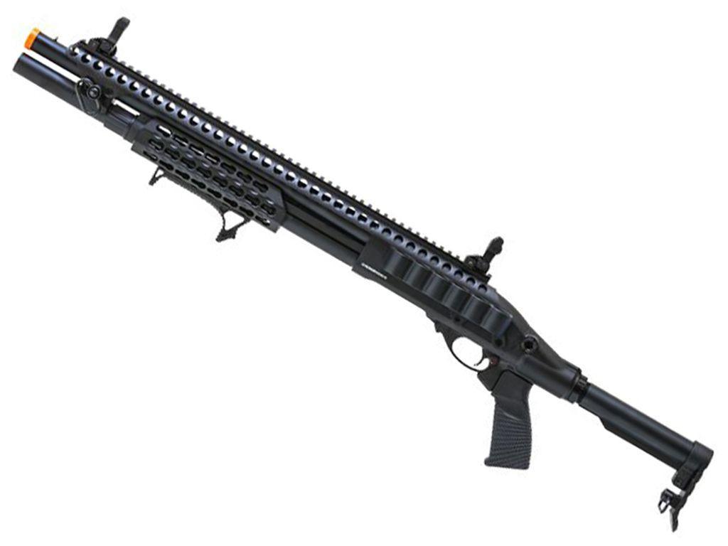 JAG Arms Scattergun SPX Green Gas Airsoft Shotgun