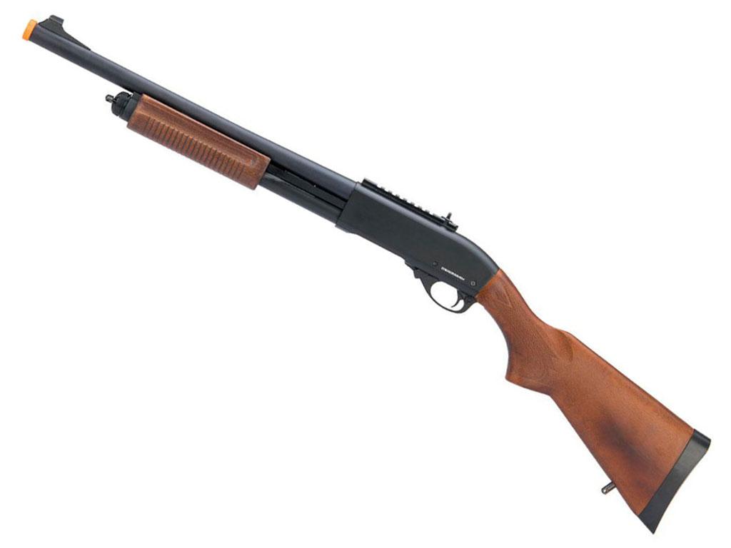 Gas JAG Arms Scattergun HD Shotgun - Real Wood