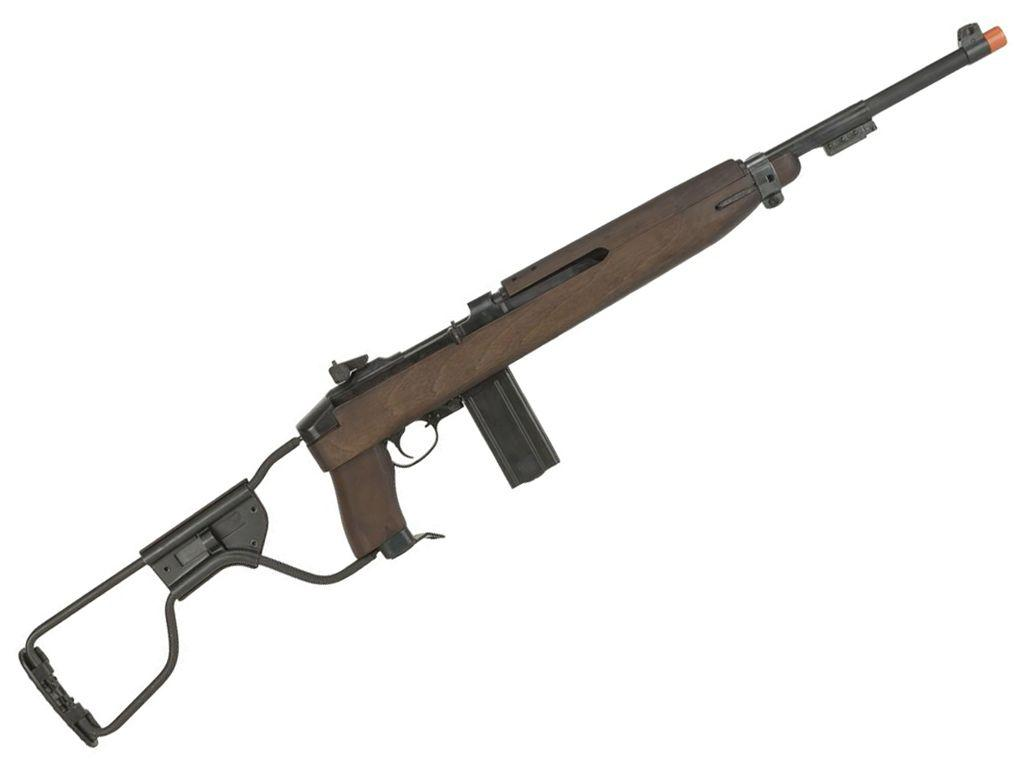 King Arms M1A1 Paratrooper CO2 Blowback Airsoft Rifle