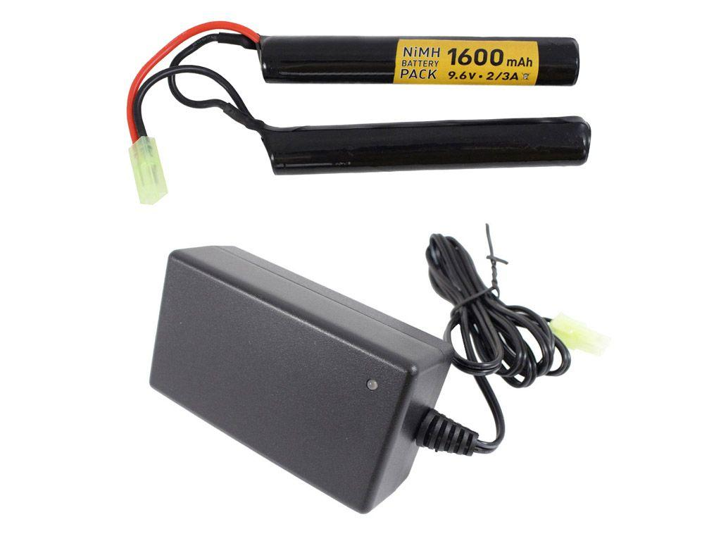 9.6V Battery and Smart Charger Set