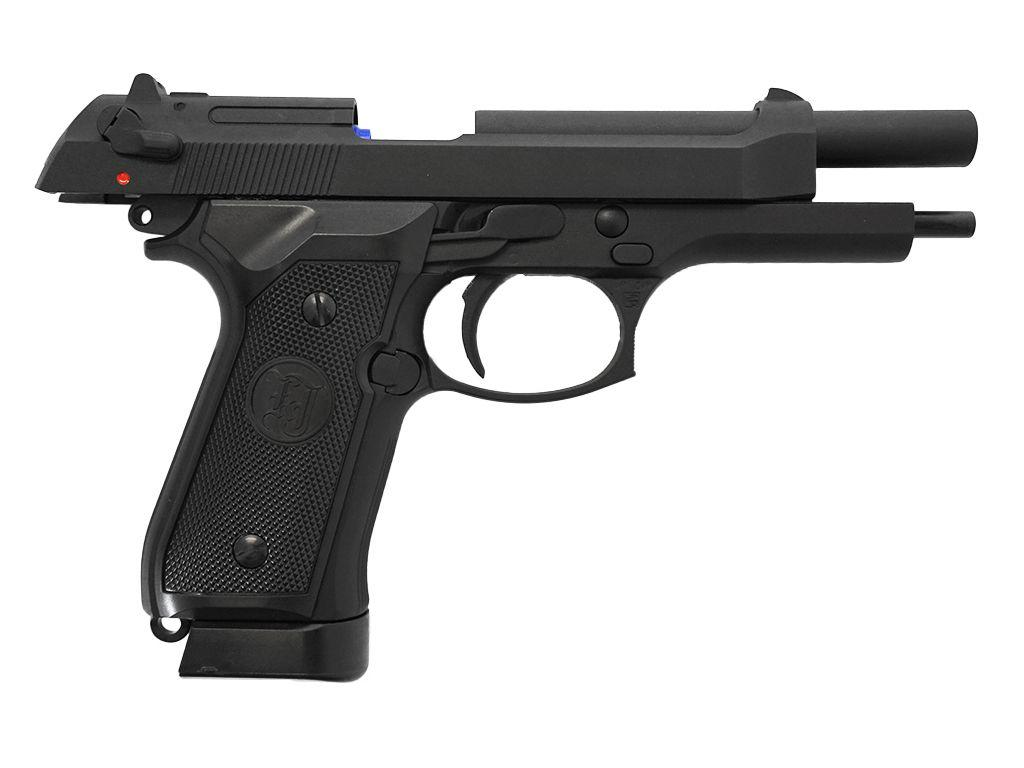 KJ Works M9 Vertec Airsoft Pistol CO2 Blowback