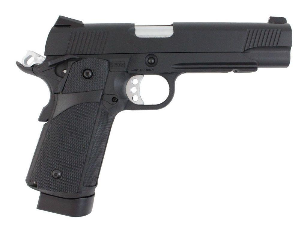KJ Works Hi-Capa KP-05 Blowback Airsoft Pistol