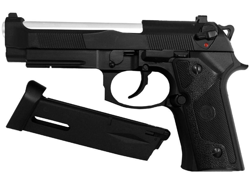 KJ Works M9 Elite IA Full Metal CO2 Blowback Airsoft Pistol