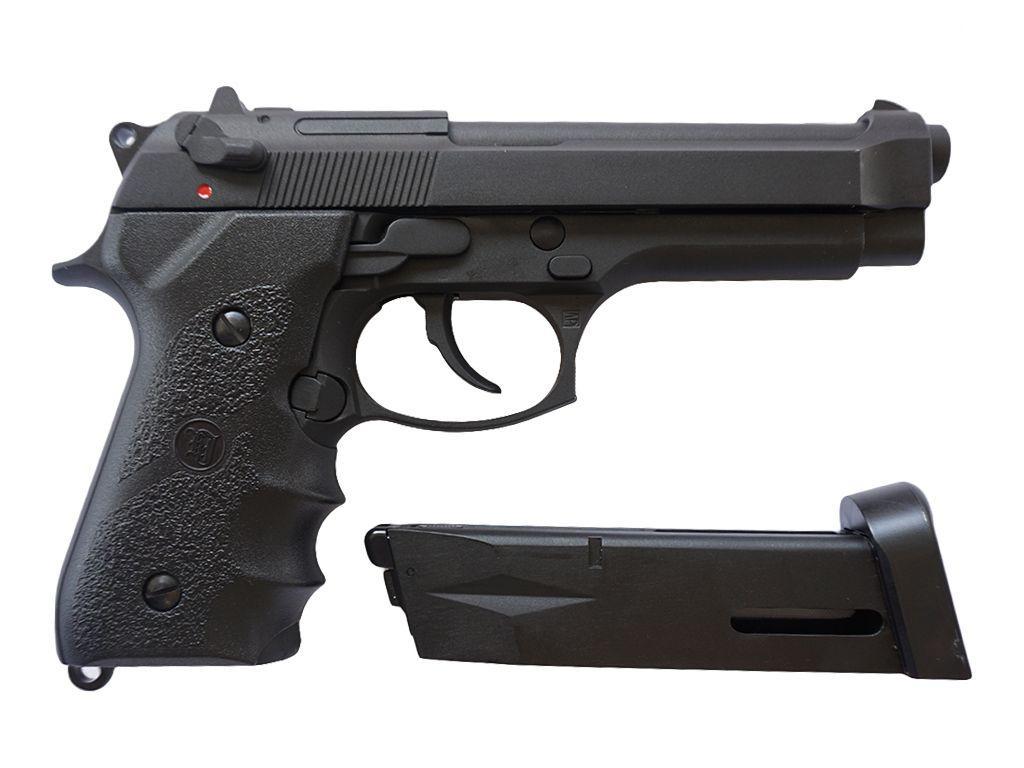 KJ Works M9 Tactical Airsoft Pistol CO2 Blowback