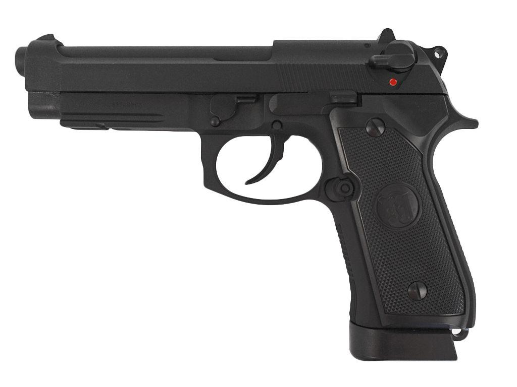 KJ Works M9A1 Green Gas Blowback Airsoft Pistol