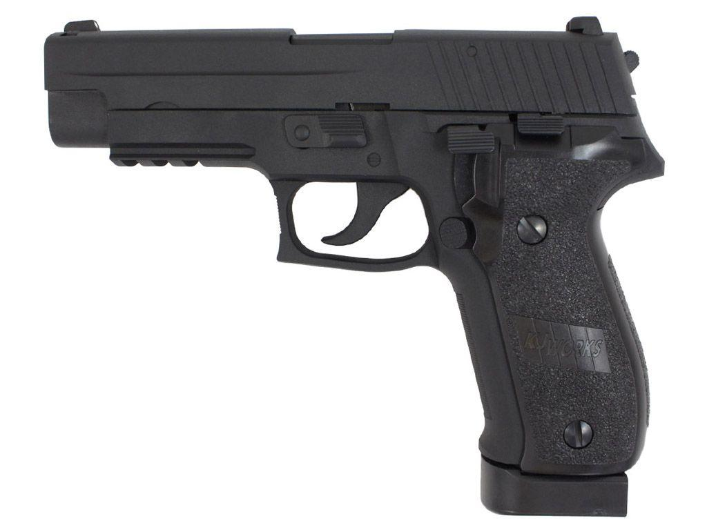 KJ Works P226 CO2 Blowback Airsoft Pistol