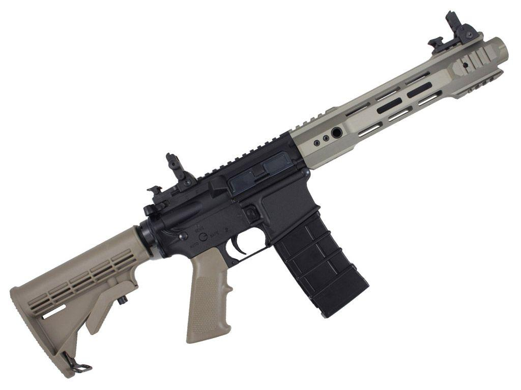 KJ M4 RIS-3 V3 C8 Gas Blockback Airsoft Rifle