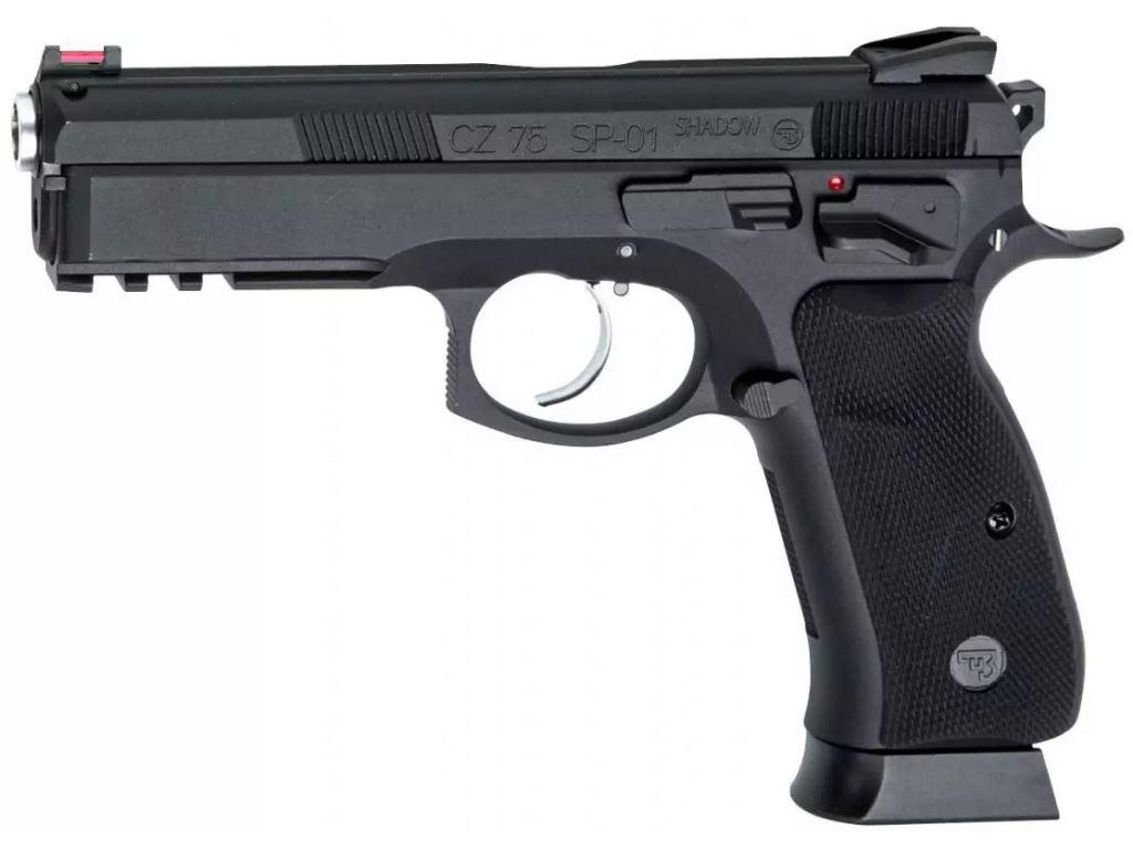 CZ75 SP-01 GAS Blowback Airsoft Pistol Gun