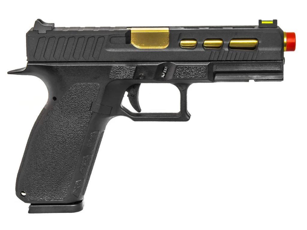 KP-13 GAS Airsoft Pistol Gold Metal Slide