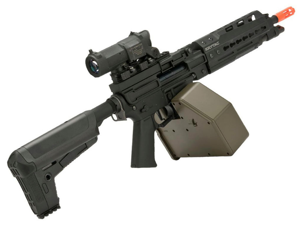 LMG Trident Krytac MK II Light Machine Gun With Keymod Handguard