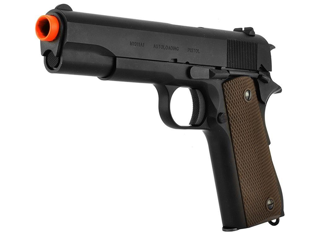 KWA M1911 A1 Green Gas Blowback Airsoft Pistol