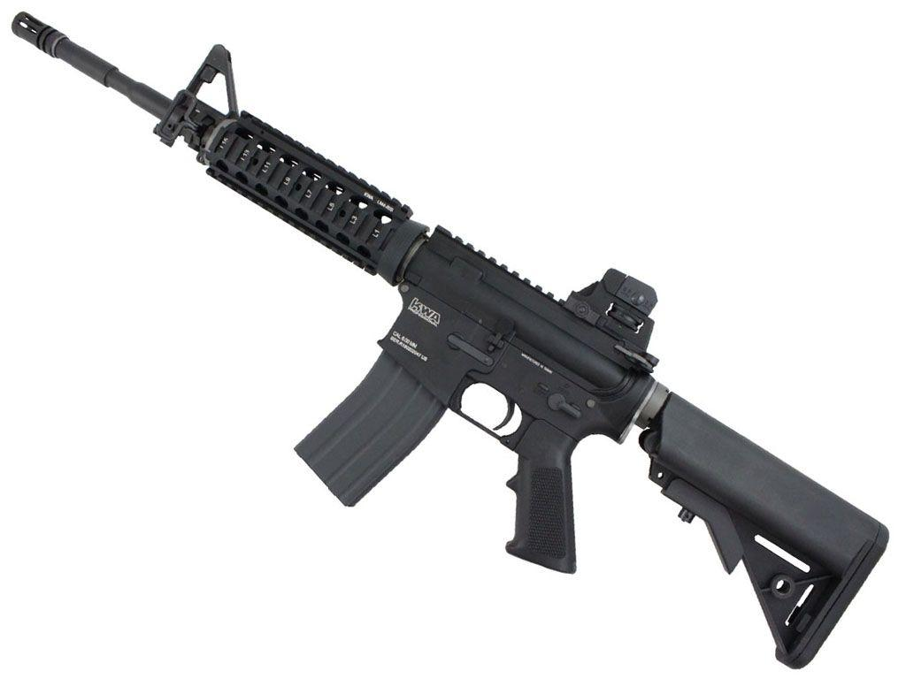 KWA LM4 RIS PTR Full Metal GBB Airsoft Rifle