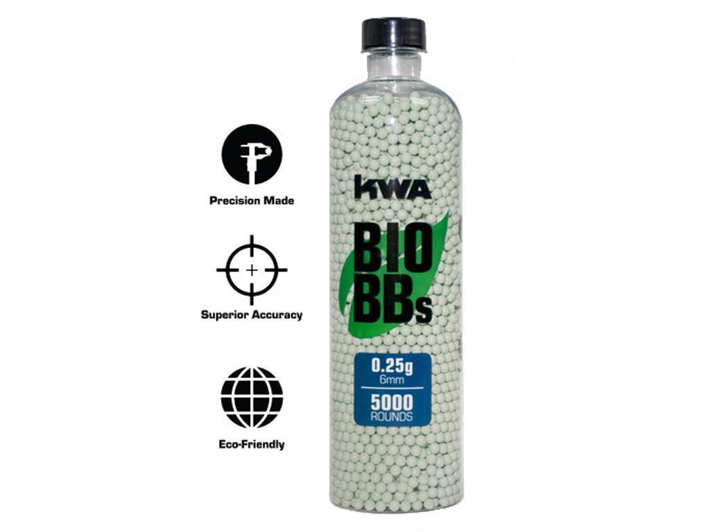 KWA Bio Airsoft BBs Bottle - 5000