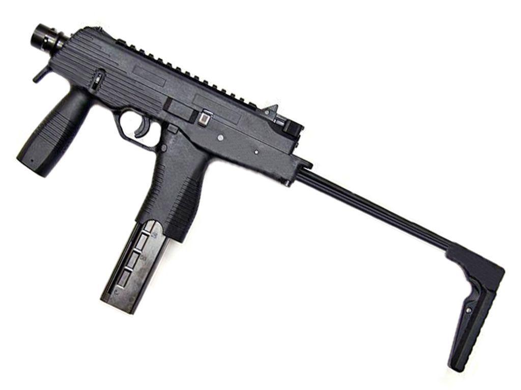 KWA KMP9 Gas Blowback Airsoft Submachine Gun with Grip