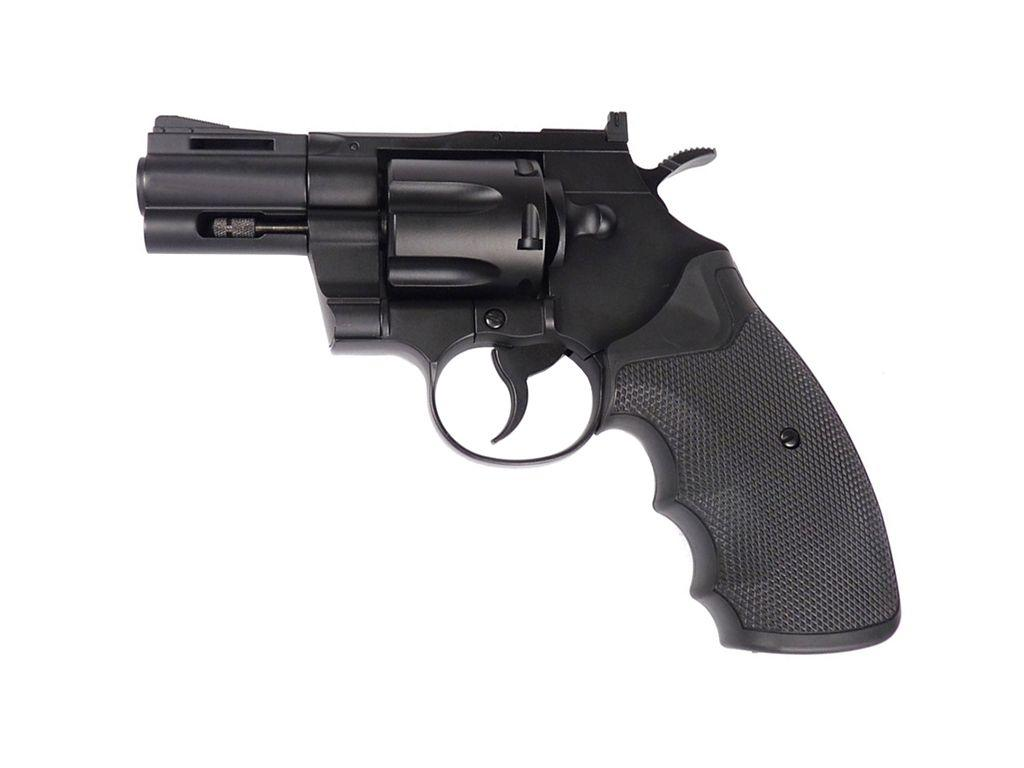 KWC 357 2.5 Inch Barrel CO2 Airsoft Revolver