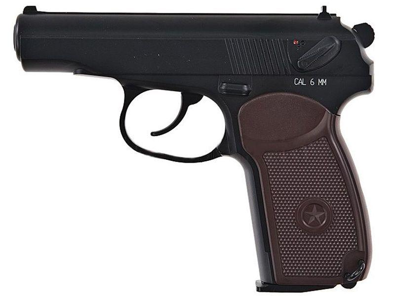 KWC Makarov PM C02 Blowback Airsoft Pistol