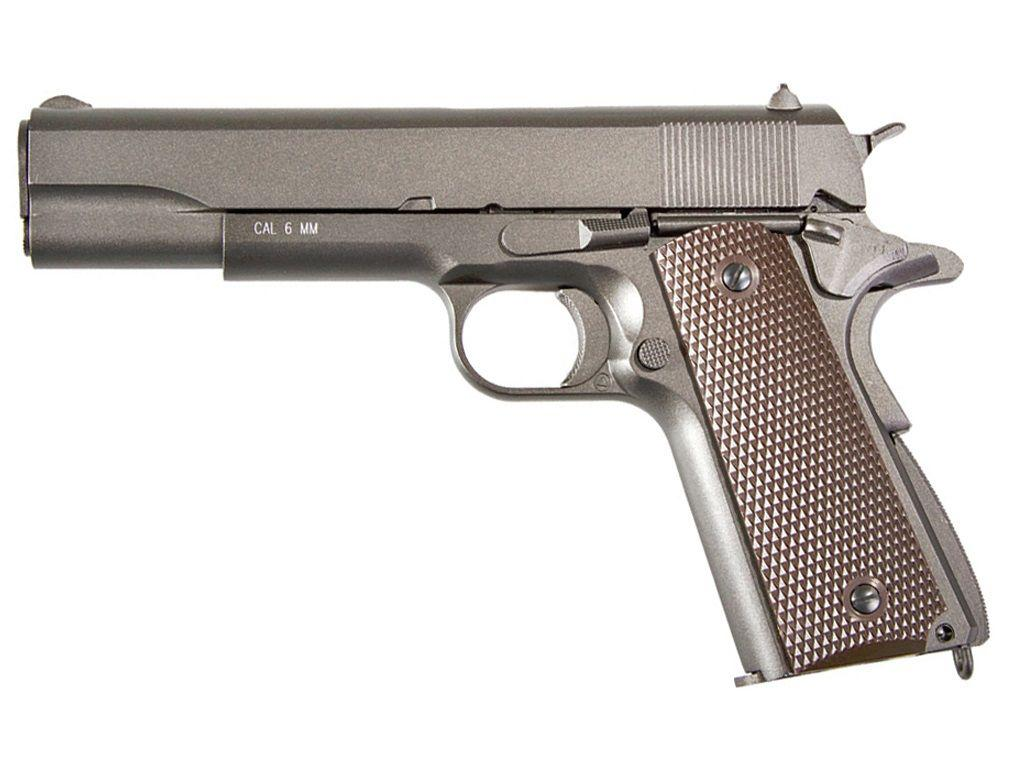 KWC M1911 Full Metal Gas Blowback Airsoft Pistol