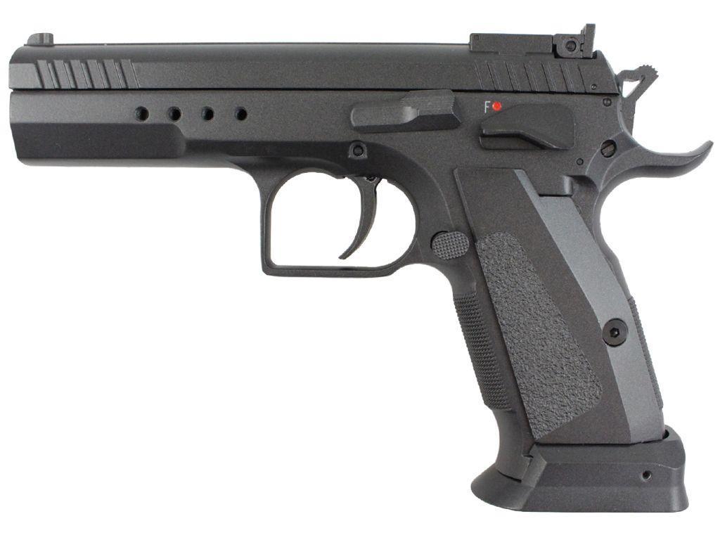 KWC Model 75 TAC  C02 Blowback Airsoft Pistol