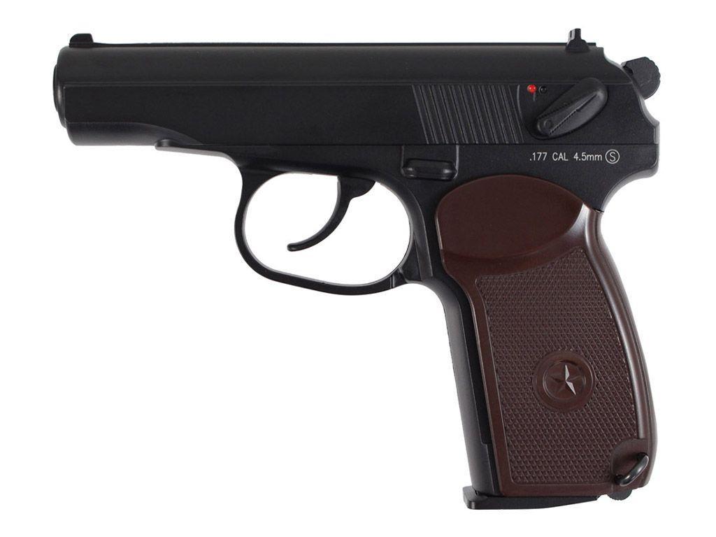 KWC Makarov PM CO2 NBB Steel BB Pistol
