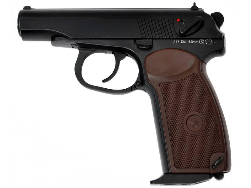 KWC Makarov PM C02 Blowback Steel BB Pistol