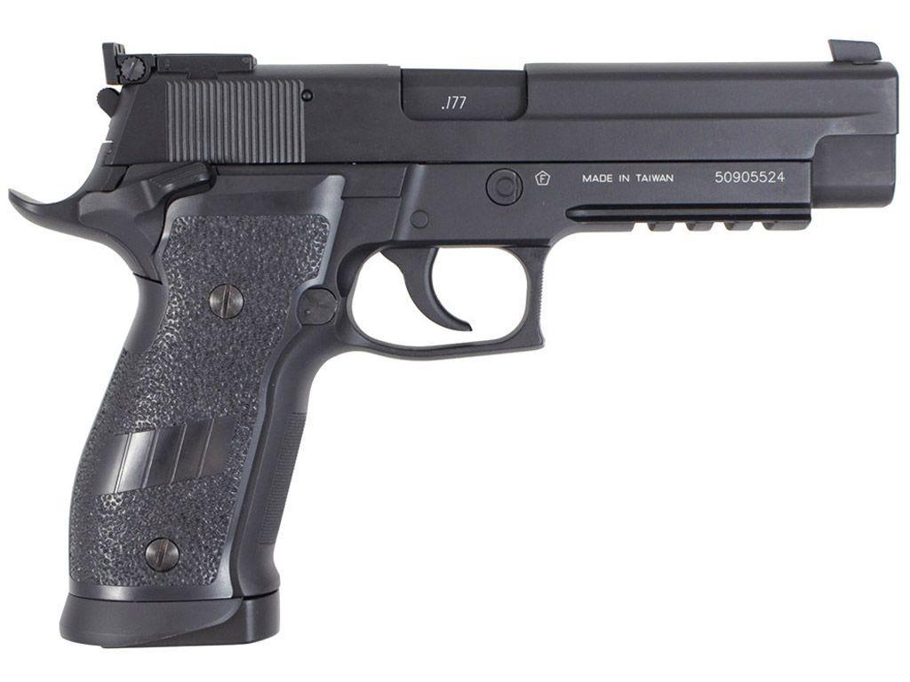 Buy Cheap KWC KMB-74AHN 226S5 Full Metal Blowback Steel CO2 BB Pistol|ReplicaAirguns.ca