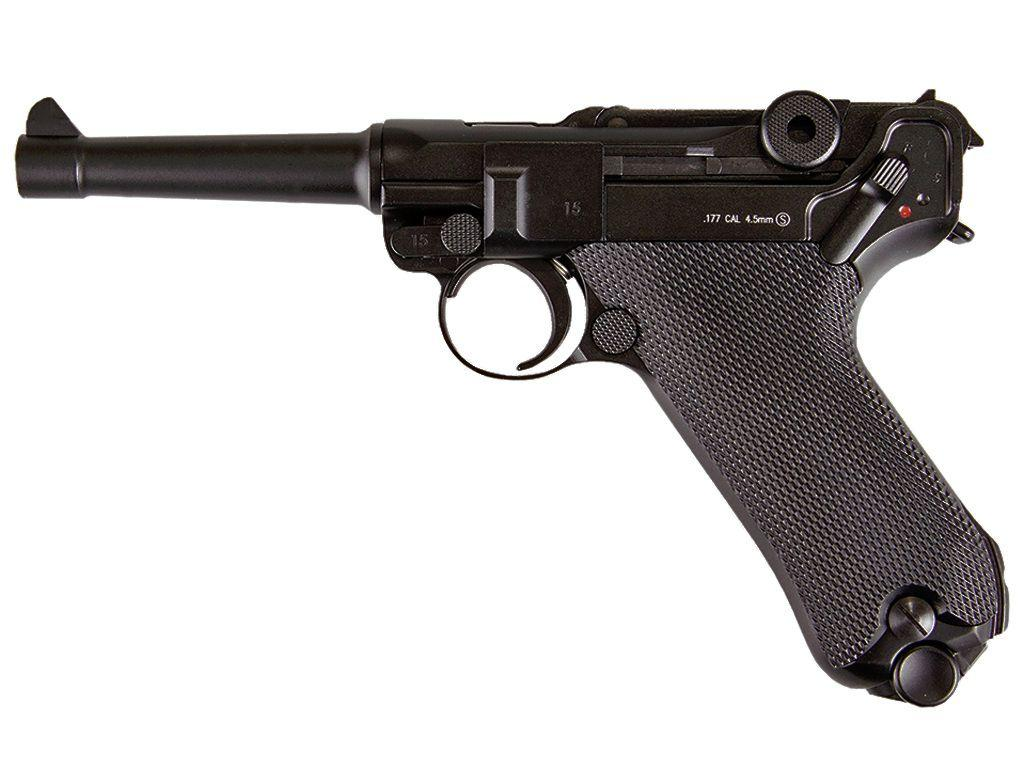 KWC Luger P08 Full Metal 4.5mm BB Pistol