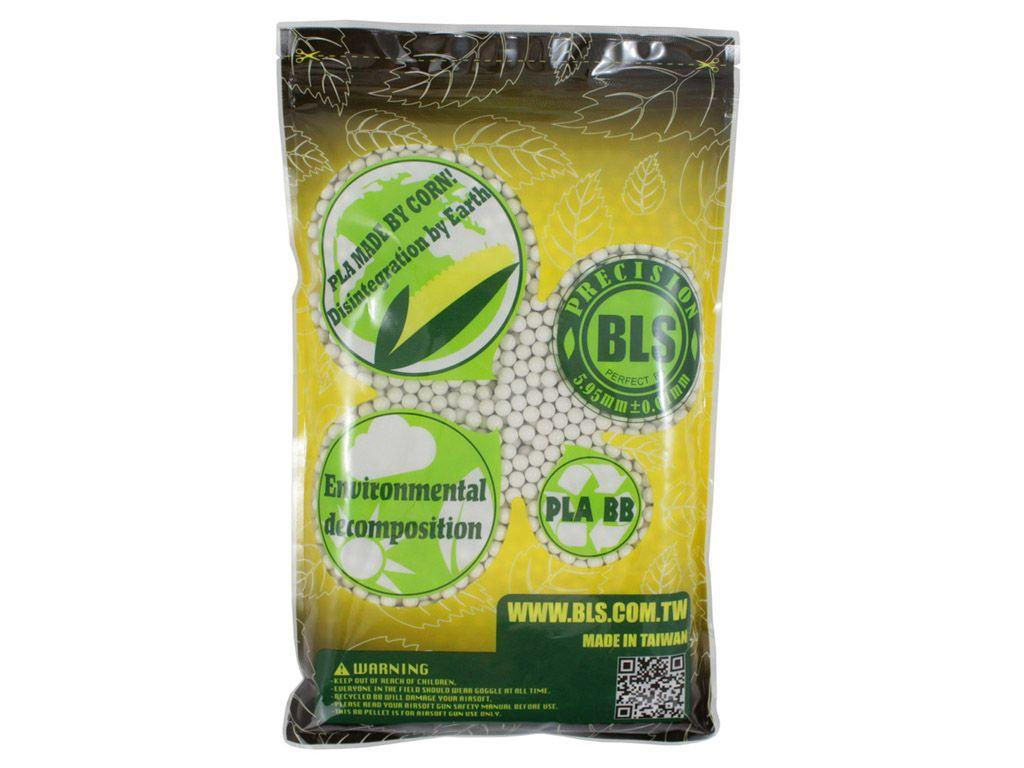 BLS Biodegradable Airsoft BBs 3570 count - 0.25g
