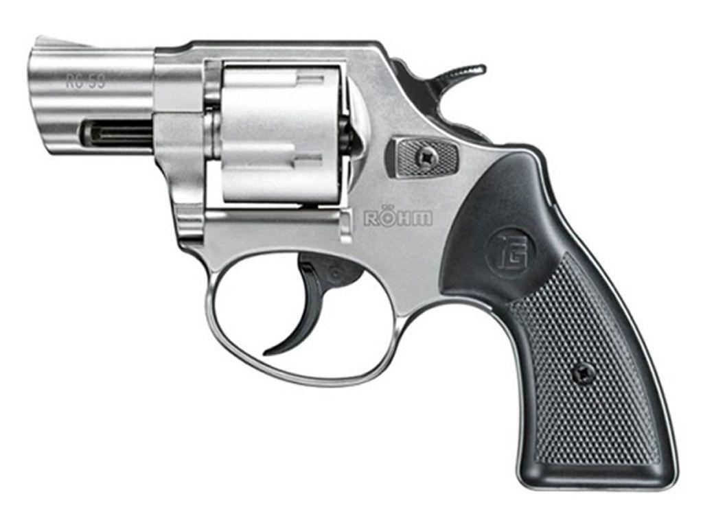 RG-59 Five Shot .380 Blank Revolver (Silver)