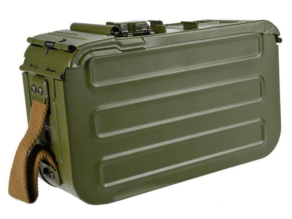 Matrix PKM/HMG Airsoft AEG Steel Box Magazine - 5000rd