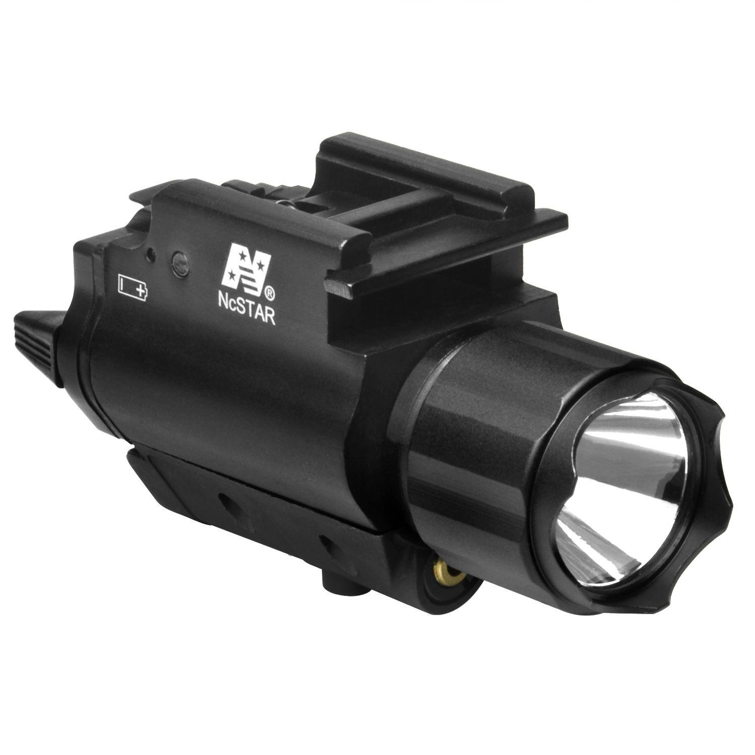 Ncstar Tactical Red Laser Sight And Led Flashlight