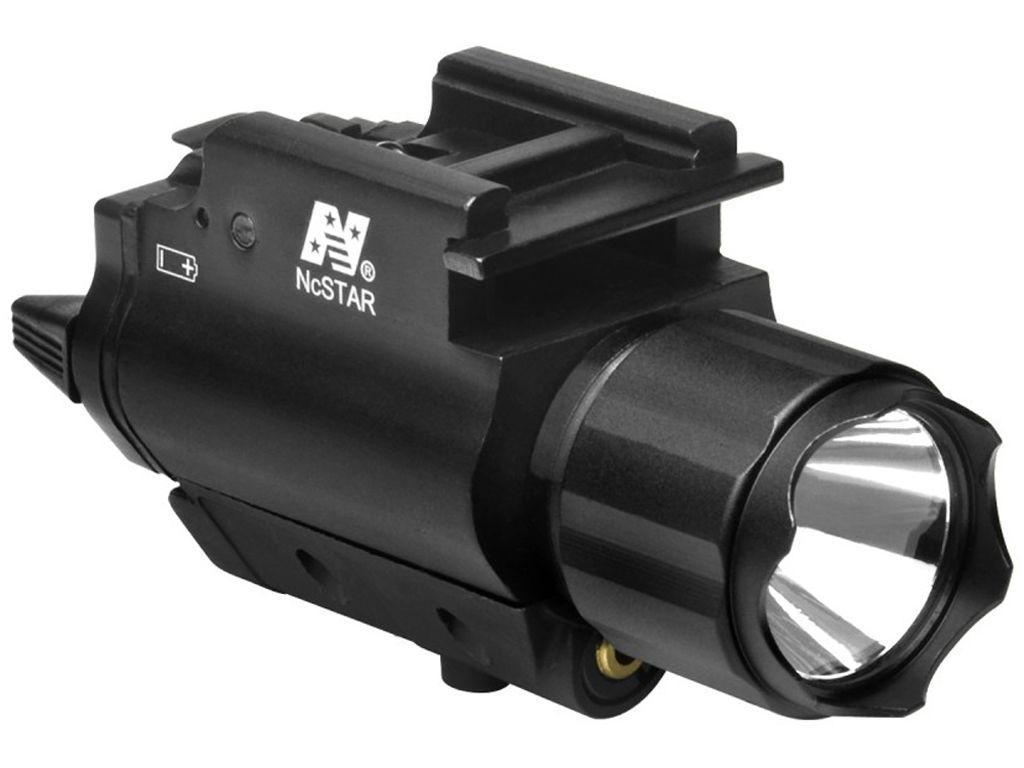 NcStar 200 Lumen LED Flashlight Pistol Laser Combo