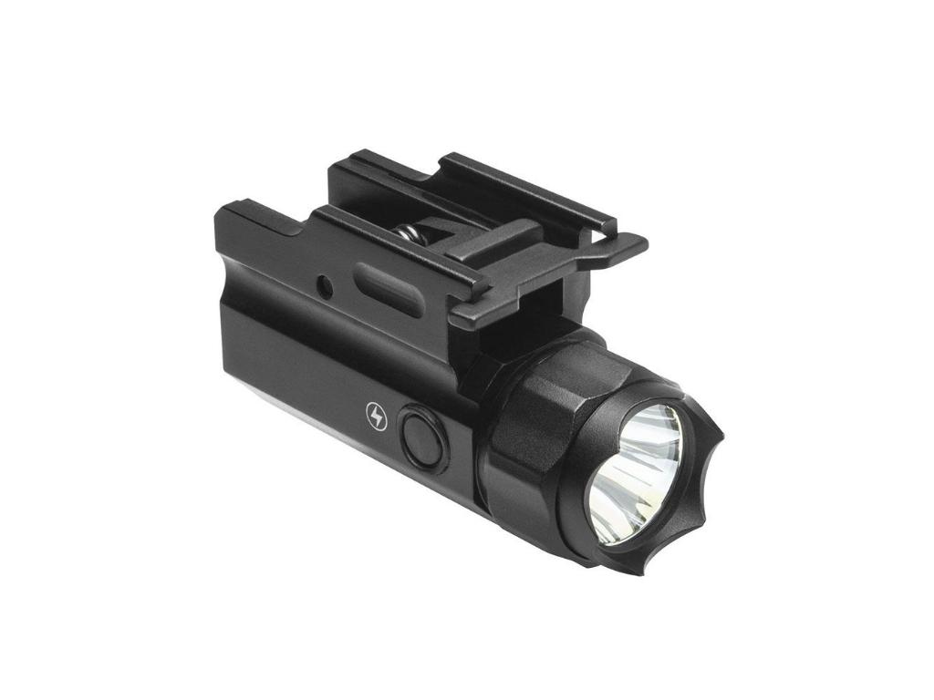 NcStar 3w 150 Lumen Led Flashlight Qr With Strobe