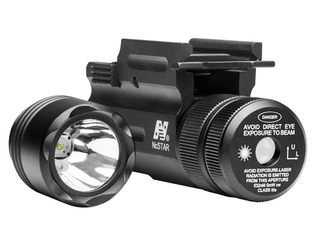 Ncstar Compact gun And Rifle Green Laser Flashlight