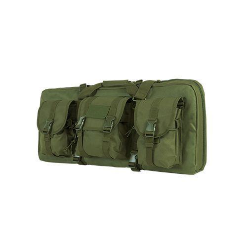 Ncstar28-Inch Deluxe AR/AK Green Pistol Case