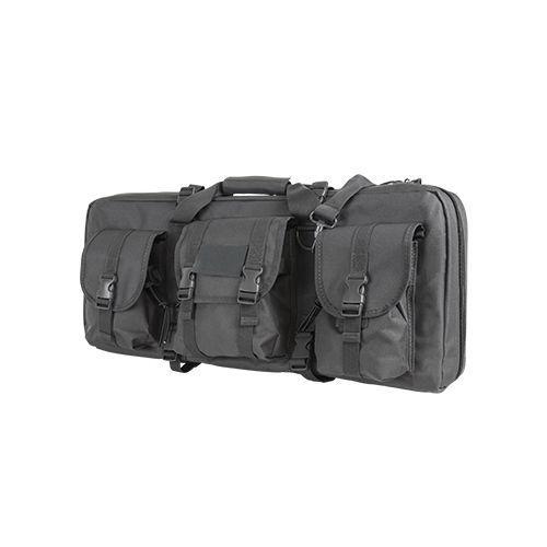 Ncstar28-Inch Deluxe AR/AK Grey Pistol Case